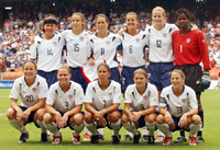 US women's World Cup team 2003.
