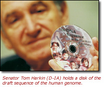 Humn Genome Project on CD